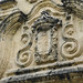 Lo stemma spagnolo sull'edificio dell'Inquisizione spagnola