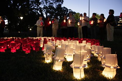 ICAN vigil in Melbourne