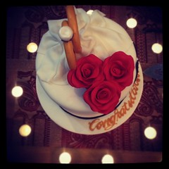 @hnoofmohaws (Seema =)) Tags: flowers party cake lady square bride candles marriage ring squareformat          iphoneography instagramapp xproii uploaded:by=instagram