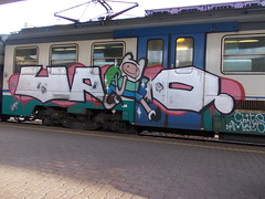 Immagine 018 (en-ri) Tags: train writing torino graffiti crew writer zaino meko clito uao tappini