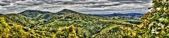 Blick vom Drachenfels bei Bonn ins Siebengebirge; In der Mitte der zweithchste Berg (455m) im Siebengebirge Lwenburg mit der gleichnamigen Ruine. (Polybert49) Tags: bonn nrw rhein tyskland rheinland gemany germania duitsland riverrhine niemcy nordrheinwestfahlen rpubliquefdraledallemagne sonyslta55v germanujo heribertpohl