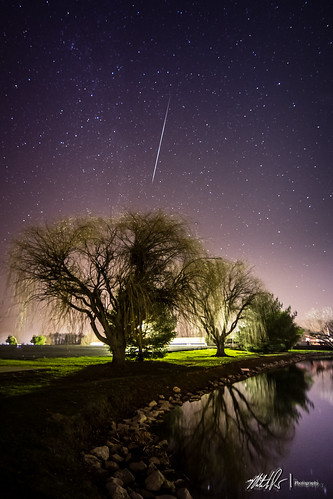 Gemenid Meteor Shower - 2012 (Starlight, Indiana)