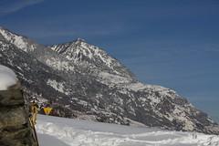La Grand Garde (bulbocode909) Tags: triangles jaune suisse bleu neige valais montagnes mfcc grandgarde