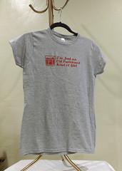 Old Fashioned Girl (made by mauk) Tags: screenprint craft tshirt oldfashioned yudu madebymauk maukrulz