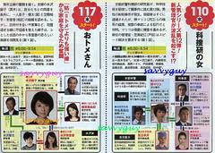 1.10 朝日 科捜研の女 1.17 朝日 おトメさん