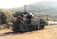 Green Mountain 406 (CPShips) Tags: 1987 whiteriverjunction alco greenmountain