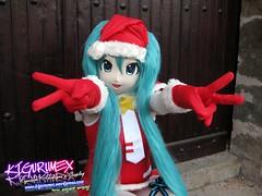 Kigurumex - Hatsune Miku Navidea 18 (Kigurumex Kigurumi) Tags: xmas anime girl navidad cosplay chrismas hatsune miku kigurumi kaoi animegao vocaloid hatsunemiku kigurumex