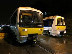 Rainy night ((Mick Baker)rooster) Tags: uk england london train europe diesel depot wembley dmu chilternrailways class165 class168 wembleydepot dbarrivauktrainsltd