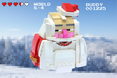 TROLOLO CLAUS (Carson Hart) Tags: life santa boss chris white mountain game smile saint carson hair beard nose happy photography photo video hilarious cool interesting scary funny all with lego head nick contest floating creepy nicholas photograph hart lives editing jolly claus mustache build score technique edit lazers destroy kringle not so trololo