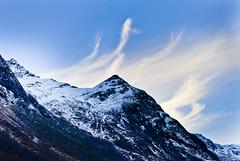 Peak (Maríon) Tags: blue mountain snow mountains marion sykkylven supermarion nesje marionnesje
