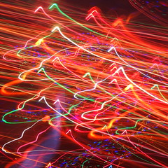Rugged landscapes (kevin dooley) Tags: christmas xmas light mountain lightpainting landscape model sony systems science complexity range complex rugged icm nk christmaslight xmaslight rx100 intentionalcameramovement christmaslightpainting xmaslightpainting