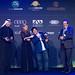 Diego Armando Maradona awarded by Michel Platini