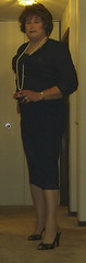 bldrsnewig15 (didi_lynn) Tags: sexy highheels sandals cigarette smoke jewelry pearls crossdressing hose smoking redhead tgirl hosiery pantyhose crossdresser crossdress gurl tg sexylegs longlegs nylons classy rednails bigtits pearlnecklace longnails cfm peeptoes vs120