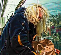 Street Photograph of the Day | Portland OR (Alexander Kenton) Tags: street new york city nyc urban white black four photography raw noir candid photojournalism documentary gritty moment magnum decisive 43micro thirdsleica billkentonalexander