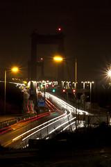 Tamar Bridge (mplatt86) Tags: road street longexposure bridge lights cornwall traffic tamar brunel saltash plymouthdecemberdevoncornwall