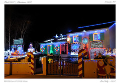 Noël en Auvergne   Christmas in Auvergne (BerColly) Tags: blue light france night google flickr noel hour nuit auvergne heure clermontferrand chrismast puydedome lumire belue bercolly
