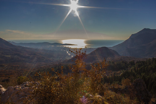 Солнце над морем - Sun over the sea