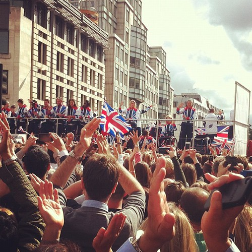 #ourgreatestteam earlier today