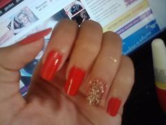 nail art filha unica (Ellen Pontes) Tags: nailart clubedoesmalte