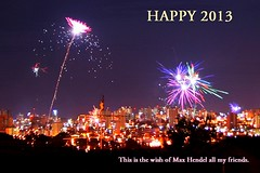 Happy 2013 by Max Hendel (Max Hendel) Tags: happynewyear felizanonovo bymaxhendel pormaxhendel feliz2012 happy2013