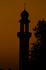 The shadows of sunset (khurramar) Tags: sunset minaret mosque masjid minare manra sunsetinpakistan