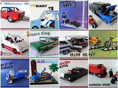 LEGO cars of 2012 (Lino M) Tags: cars fdsflickrtoys lego martins lino 2012 lugnuts