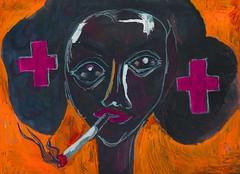 Nurse (czavelle) Tags: portrait people art painting drawing character nurse czavelle charleszavelle