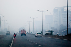 IMG_20130101_071249.JPG (Harshad Sharma) Tags: road india mist smog highway maharashtra weh in westernexpresshighway private2015