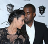 Kim Kardashian and Kanye West out at 1 Oak Nightclub at The Mirage Resort and Casino Las Vegas