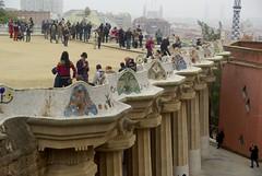 Barcelone - Parc Güell (larsen & co) Tags: barcelona spain espagne barcelone modernisme parcgüell trencadis