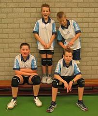 2004 Mini  3 - Tr. Marten Berenst - Matthijs, Marcel, Jelle, Lourens,