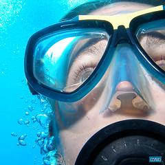 Autoportrait aquatique (cbaud) Tags: selfportrait autoportrait dive autoretrato plonge buceo plongesousmarine