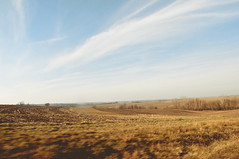 (yyellowbird) Tags: sky field landscape moving illinois midwest country