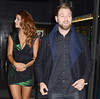 Featuring: Vogue Williams, Brian McFadden Guests on The Saturday Night Show in Dublin