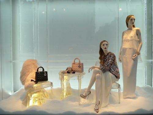 Vitrines Dior - Paris, janvier 2013