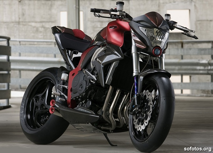 Honda CB 1000R Vermelha
