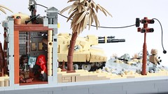 At the Edge of the Future Interior (✠Andreas) Tags: tank lego military diorama ustank legotank thepurge legombt thepurgetank thepurgeusa legousatank usmbt thepurgeustank