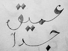 (Ali Almasri) Tags: experimental arabic ali calligraphy almasri