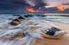 storm vs sunrise (Mk Azmi) Tags: sea nature colors sunrise nikon rocks waves dof sigma malaysia slowshutter kemasik terengganu sigma1020mm gnd8 leefilter d7000