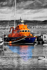 LIfeboat Heroes (Robert D Thomas) Tags: life uk wales port boat europe north christopher n royal class severn lifeboat national r hero l pierce heroes volunteer pearce breakwater rnli institution voluntary anglesey holyhead