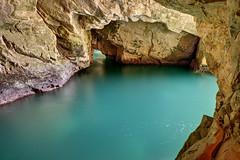 Rosh HaNikra Grotto (Xenedis) Tags: seascape water israel rocks middleeast galilee grotto cave mediterraneansea roshhanikra stateofisrael