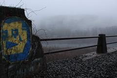 Paulinskill Viaduct Graffiti (HonJazzz) Tags: man graffiti viaduct paulinskill iorn