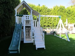 IMG_1433 (Swing Set Solutions) Tags: set play swings vinyl slide structure swing solutions playset polyvinyl