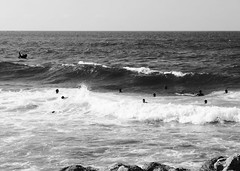 in the waves (Ali-smile!) Tags: sea mer water mediterraneo mare waves marocco acqua onde casanblanca