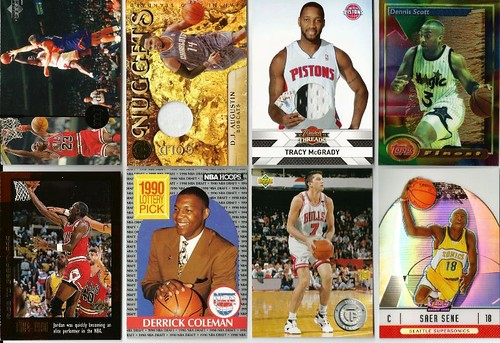 BASKETBALL SPORTS CARDS
