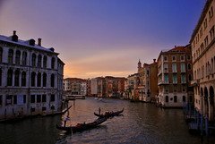Venetian Violet (Jeka World Photography) Tags: travel venice sunset italy canal europe cities gondola venetian grandcanal gondolier jekaworldphotography venetianviolet