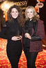 Aoife Keogh & Aoife Harrison pictured at the Irish Times Hennessy Best Dressed Lady Reader Event in the Westin Hotel. Photo: Anthony Woods