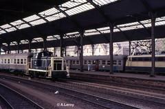 DB 261 137-4 Aachen Hbf 20-09-1987 (02435) (Alex Leroy) Tags: db aachen hbf 261 1374 02435 20091987