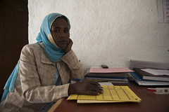 27 years old Temer Ibrahim-Health Extension Worker (UNICEF Ethiopia) Tags: unicef ethiopia wollo