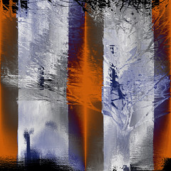 Sunrise on the Lake (hollykl) Tags: abstract tree photomanipulation square digitalart lakeeola grebe hypothetical vividimagination arteffects shockofthenew sharingart creativeartphotography awardtree vanagram visionqualitygroup netartii